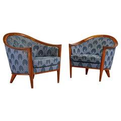Pair of 'aristokrat' Lounge Chairs by Bertil Fridhagen #2