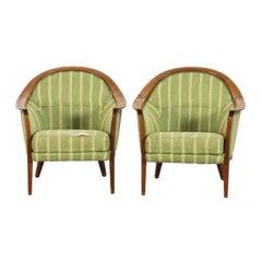Pair of 'aristokrat' Lounge Chairs by Bertil Fridhagen
