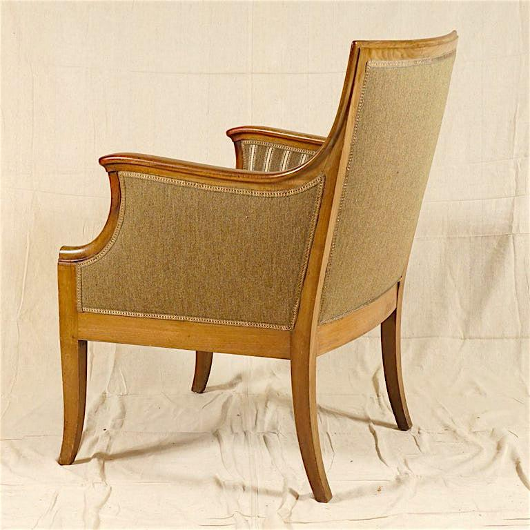Pair of Armchairs by Frits Henningsen For Sale 4