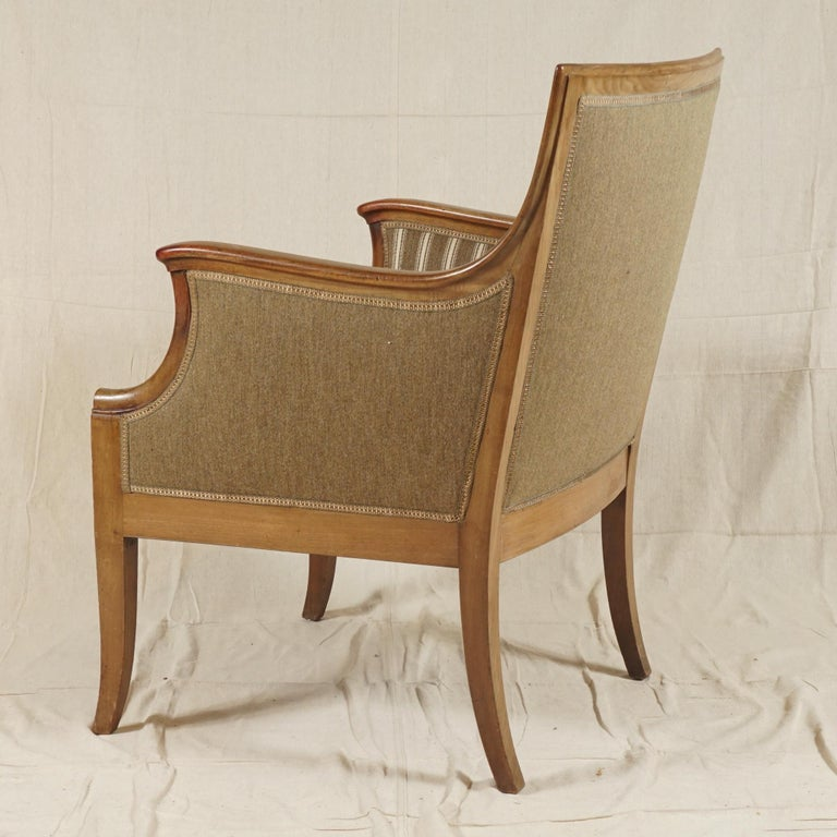 Danish Pair of Armchairs by Frits Henningsen For Sale