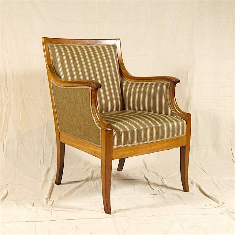 Pair of Armchairs by Frits Henningsen For Sale 2