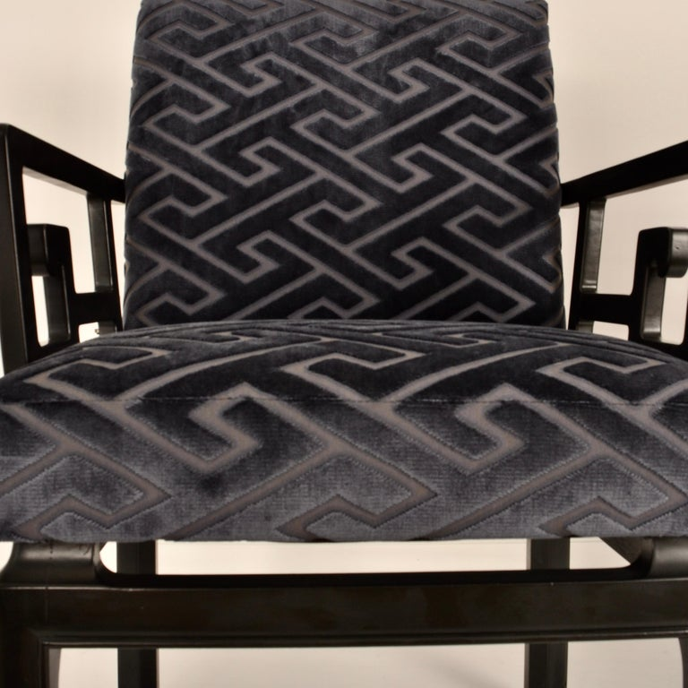 Pair of Armchairs by Michael Taylor for Baker Far East Collection For Sale 2