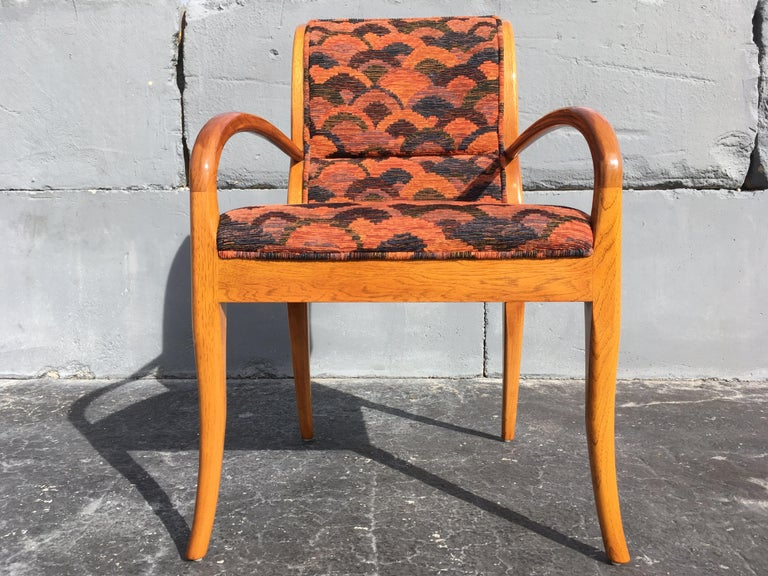 Modern Pair of Armchairs in the Style of Robsjohn-Gibbings For Sale
