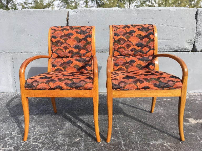 Pair of Armchairs in the Style of Robsjohn-Gibbings For Sale 1