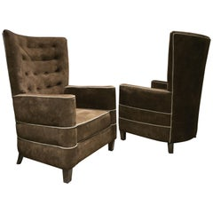 Pair of Armchairs by Guglielmo Ulrich, 1936