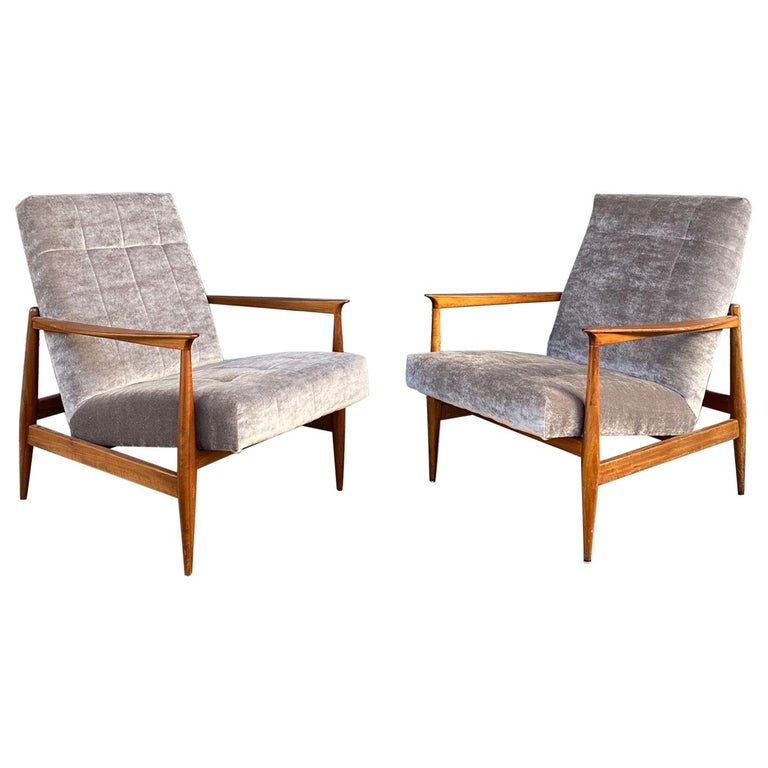 Pair of Armchairs, Altamira Editions, Portugal, 1960s For Sale