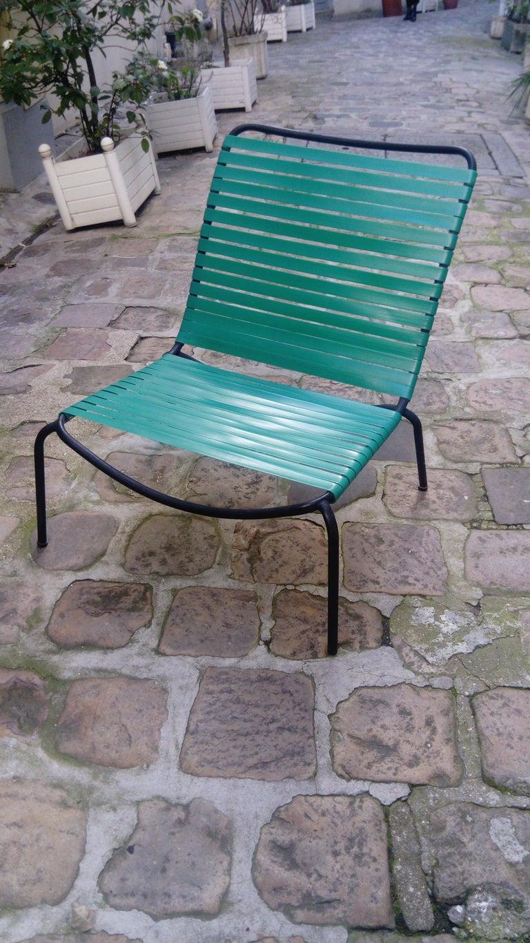 Pair of Armchairs André Monpoix For Sale 3