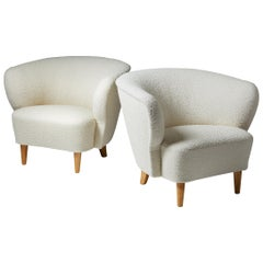 Pair of Armchairs, Anonymous, Finland, 1940s