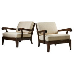 Pair of Armchairs, Anonymous, Sweden, 1940s