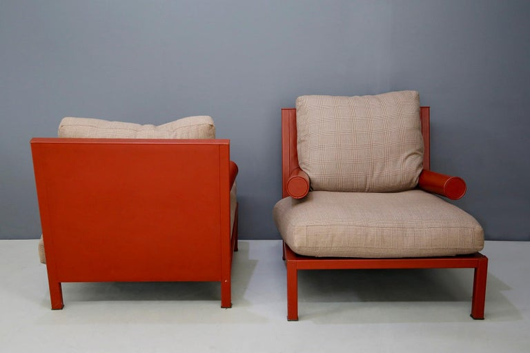 Italian Pair of Armchairs 'Baisity' for B&B Italia by Antonio Citterio, 21st Century For Sale