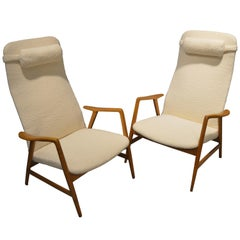 Pair of Armchairs by Alf Svensson