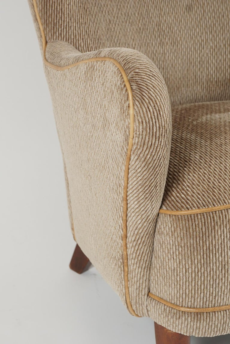 Beech Pair of Armchairs by Alfred Christensen For Sale