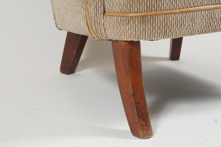 Pair of Armchairs by Alfred Christensen For Sale 1