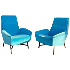Pair of Armchairs by Claude Delor, France, 1960s
