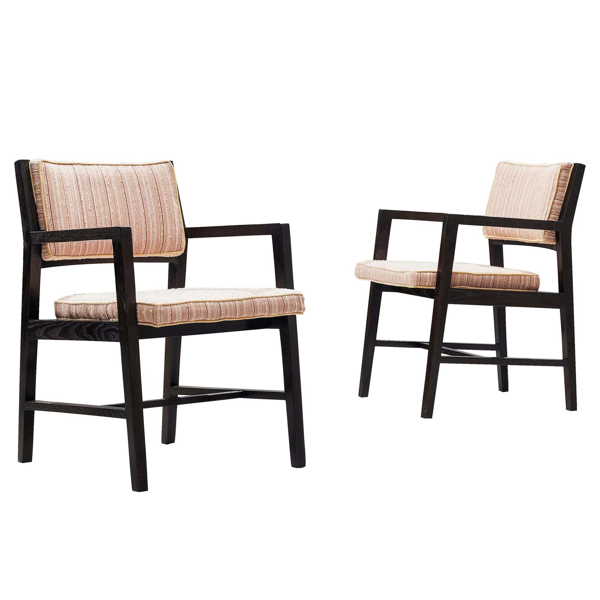 Pair of Armchairs by Edward Wormley for Dunbar