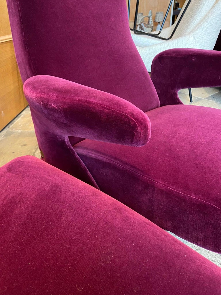 Pair of Armchairs by Erberto Carboni Model