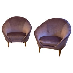 Pair of Armchairs by Federico Munari