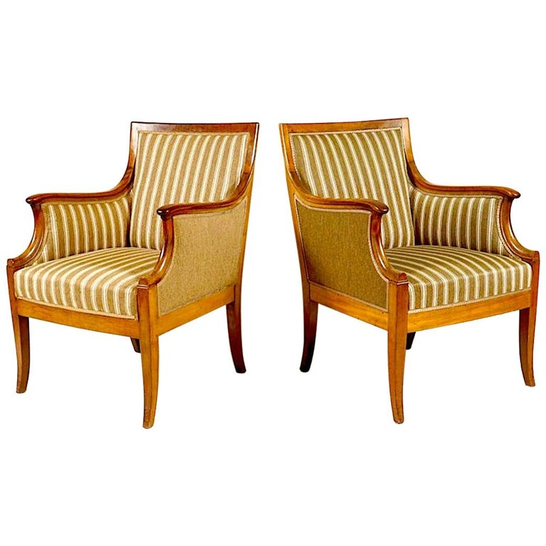 Pair of Armchairs by Frits Henningsen For Sale