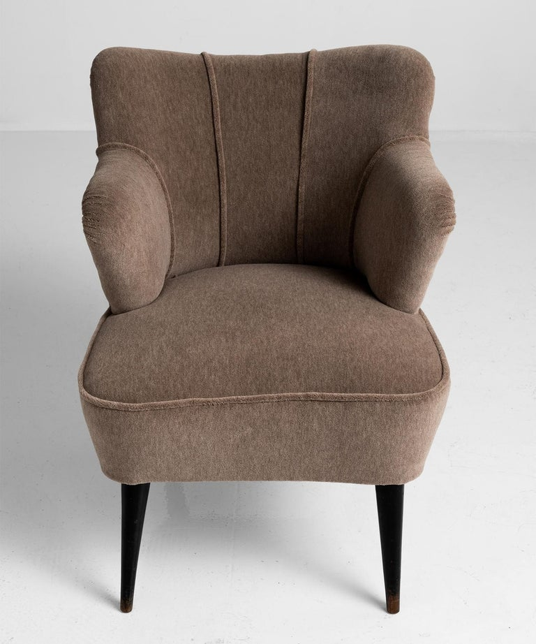 Pair of Armchairs by G. Pulitzer Finali In Good Condition For Sale In Culver City, CA