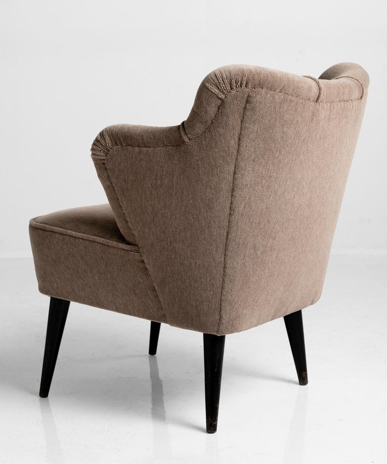 Mohair Pair of Armchairs by G. Pulitzer Finali For Sale
