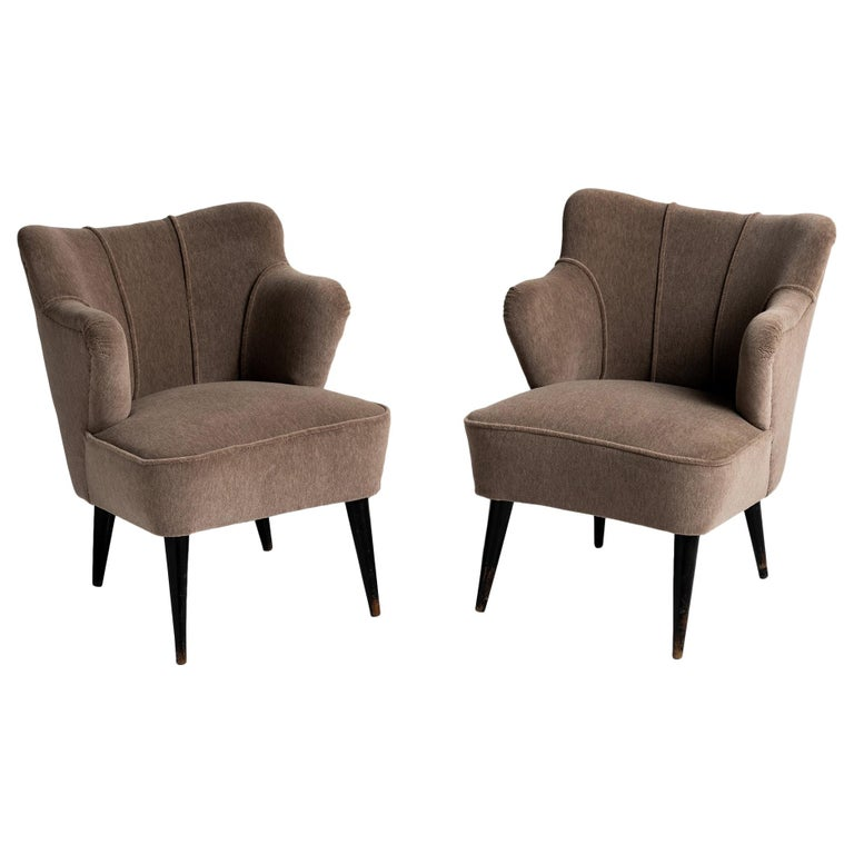 Pair of Armchairs by G. Pulitzer Finali For Sale