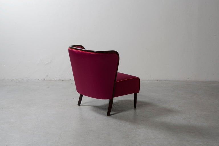 Pair of Armchairs by Guglielmo Ulrich In Good Condition For Sale In Milan, IT