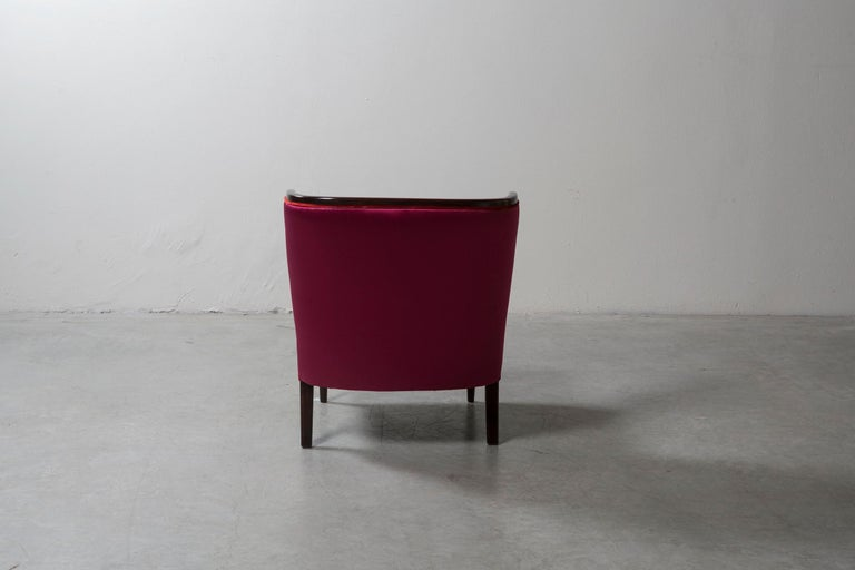 Mid-20th Century Pair of Armchairs by Guglielmo Ulrich For Sale