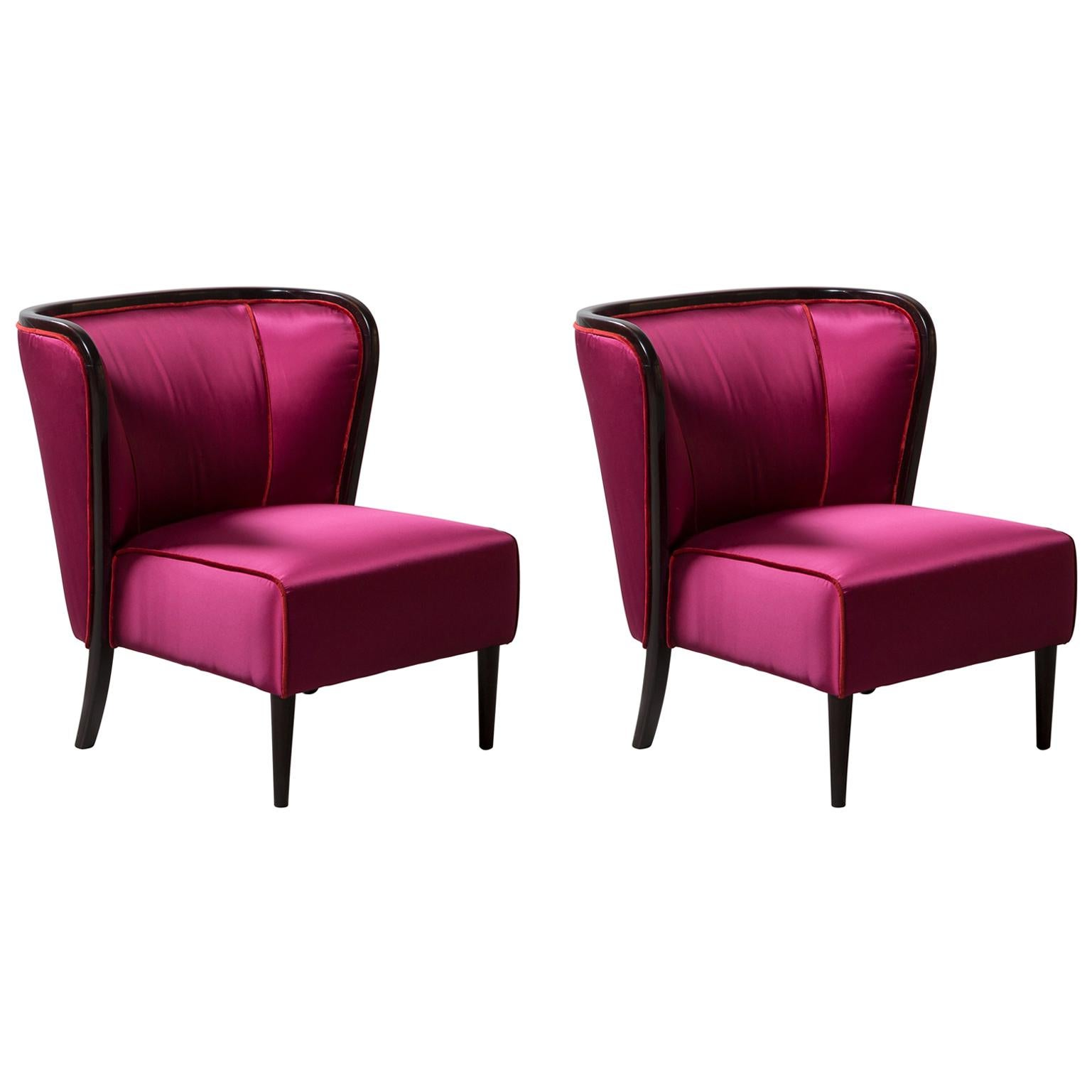 Pair of Armchairs by Guglielmo Ulrich
