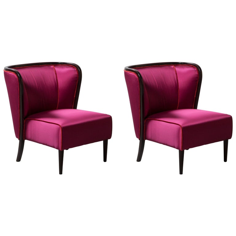 Pair of Armchairs by Guglielmo Ulrich For Sale