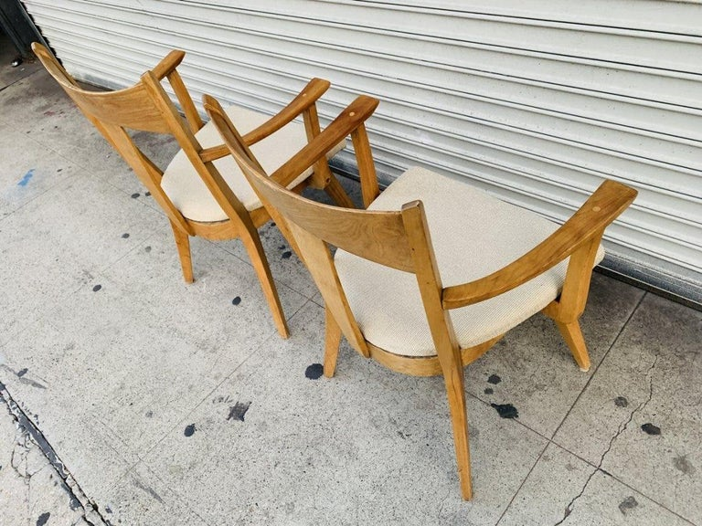 Pair of Armchairs by Heywood Wakefield In Good Condition For Sale In Los Angeles, CA