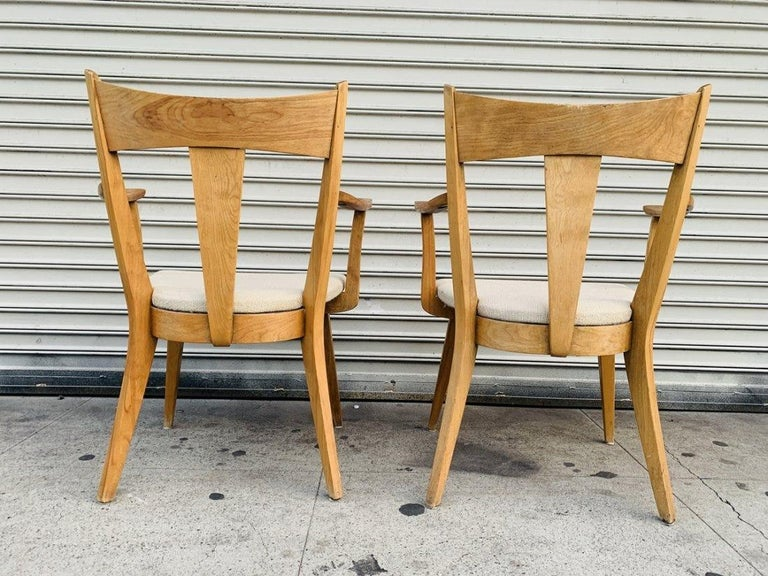 Mid-20th Century Pair of Armchairs by Heywood Wakefield For Sale
