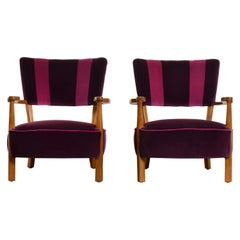 Pair of Armchairs by Hos Wulff