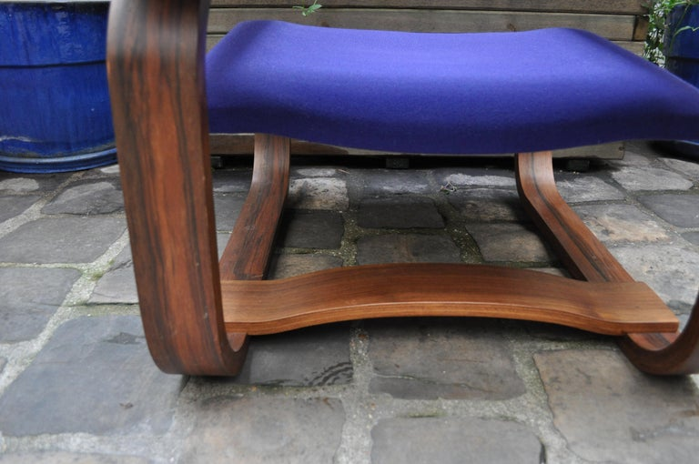 Pair of Armchairs by Jan Bocan for the Czechoslovakian Embassy, Thonet, 1972 For Sale 3