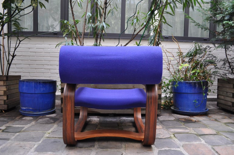 Pair of Armchairs by Jan Bocan for the Czechoslovakian Embassy, Thonet, 1972 For Sale 4