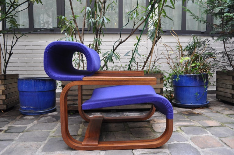 Pair of Armchairs by Jan Bocan for the Czechoslovakian Embassy, Thonet, 1972 For Sale 9