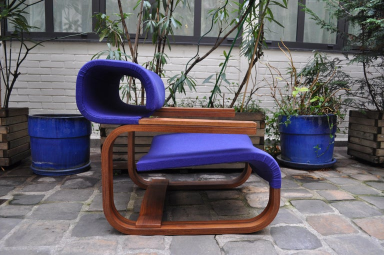 Pair of Armchairs by Jan Bocan for the Czechoslovakian Embassy, Thonet, 1972 For Sale 10