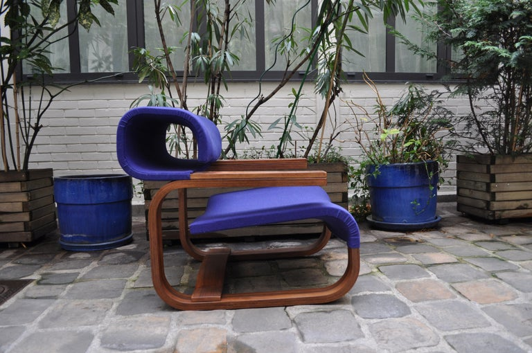 Pair of Armchairs by Jan Bocan for the Czechoslovakian Embassy, Thonet, 1972 For Sale 11