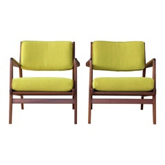 Pair of Armchairs by Jens Risom, U.S.A, 1960s