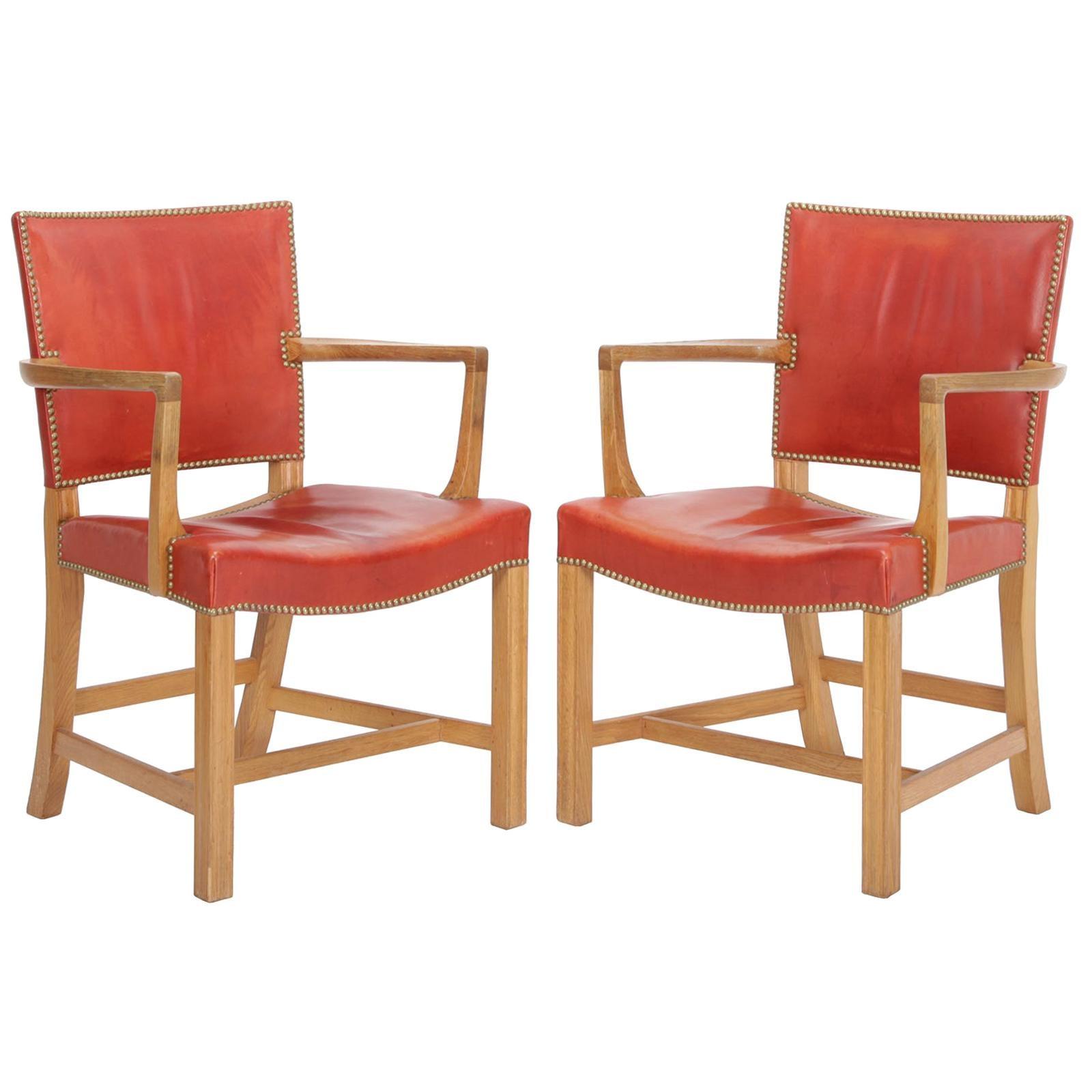 Pair of Armchairs by Kaare Klint