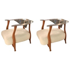 Pair of Armchairs by Kurt Beier