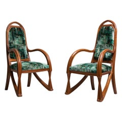 Pair of Armchairs by Louis Majorelle