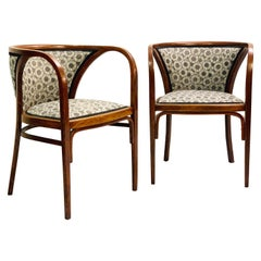 Pair of Armchairs by Marcel Kammerer, Austria, 1905