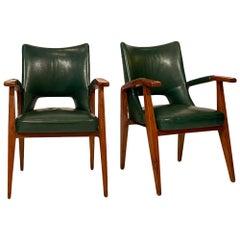 Pair of Armchairs by Mario Gottardi