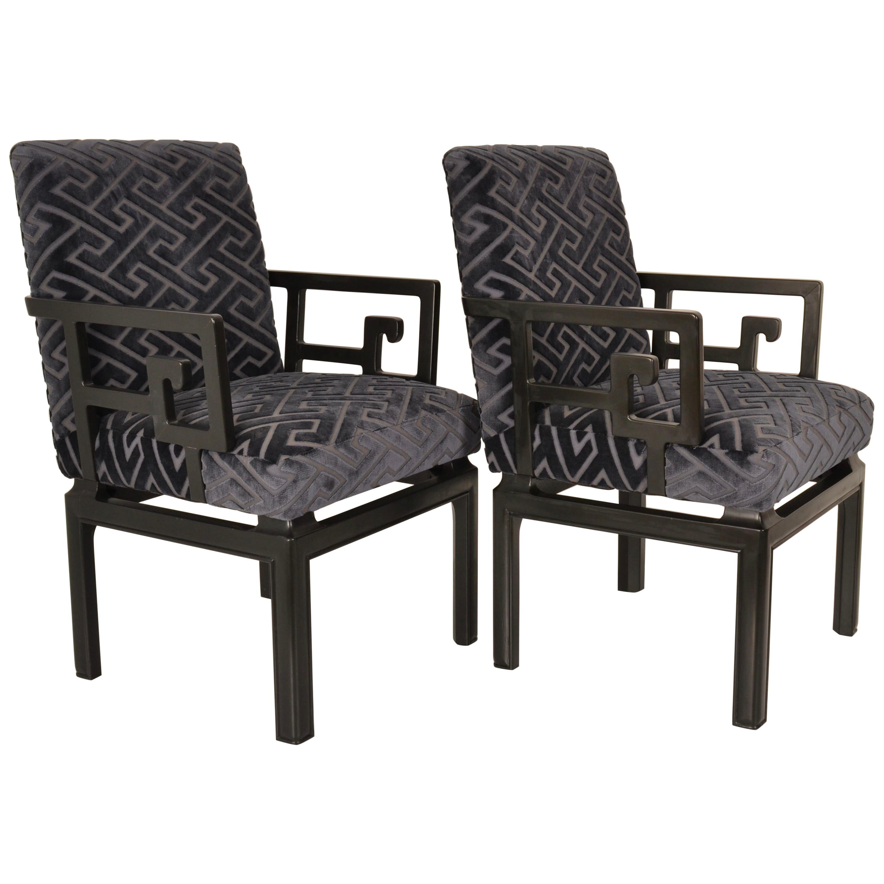 Pair of Armchairs by Michael Taylor for Baker Far East Collection