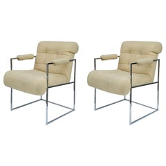 Pair of Armchairs by Milo Baughman for Thayer Coggin