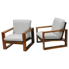 "Pair of Armchairs by Miroslav Navrátil, ""1970"""