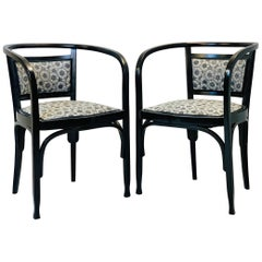 Pair of Armchairs by Otto Wagner