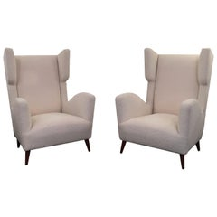 Pair of Armchairs by Paolo Buffa, 1950