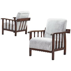 Pair of Armchairs by Pierluigi Colli, 1940s