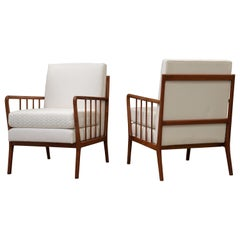 Pair of Armchairs by Rino Levi, Brazilian MidCentury Design